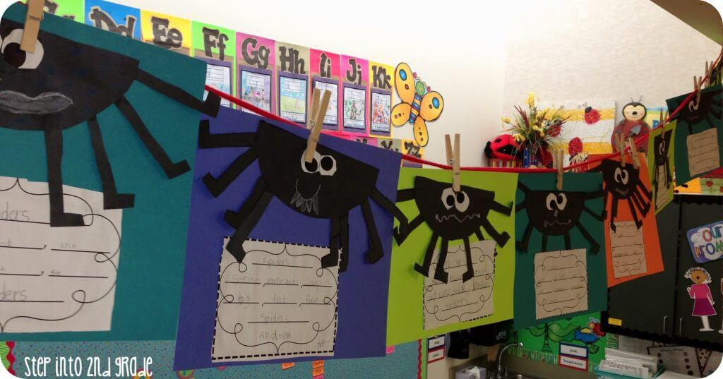 Using Spirals and The Beginning of our Spider Week!