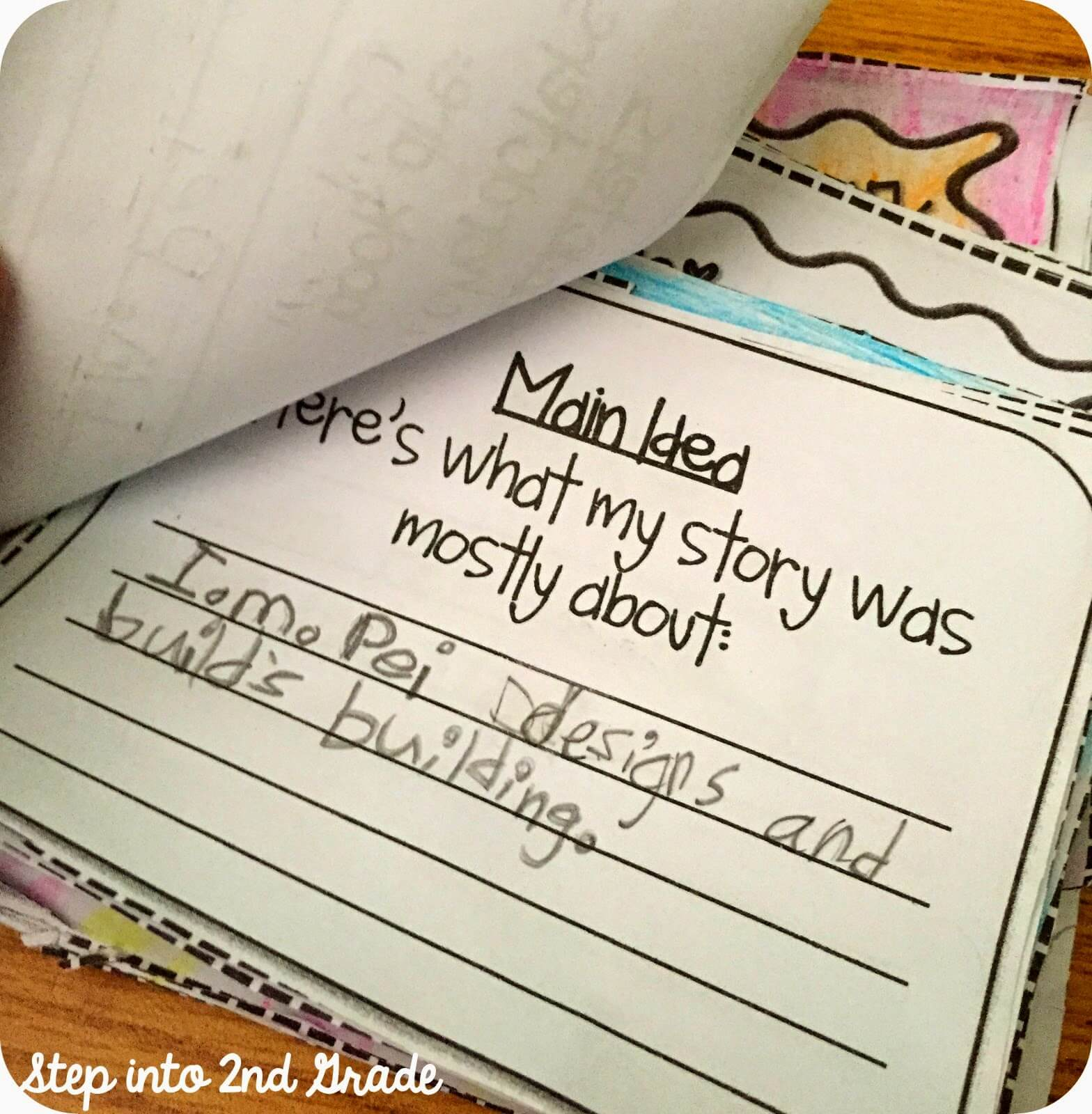 Main Idea and Reading Groups Step into 2nd Grade – Main Idea Worksheets for 3rd Grade