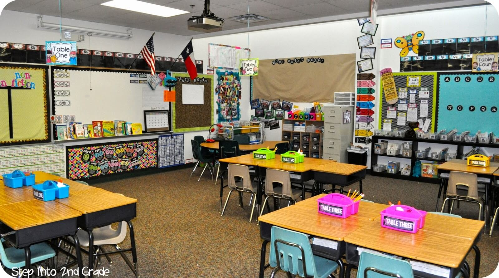 Classroom Ideas Grade 2 ~ Where i teach step into nd grade