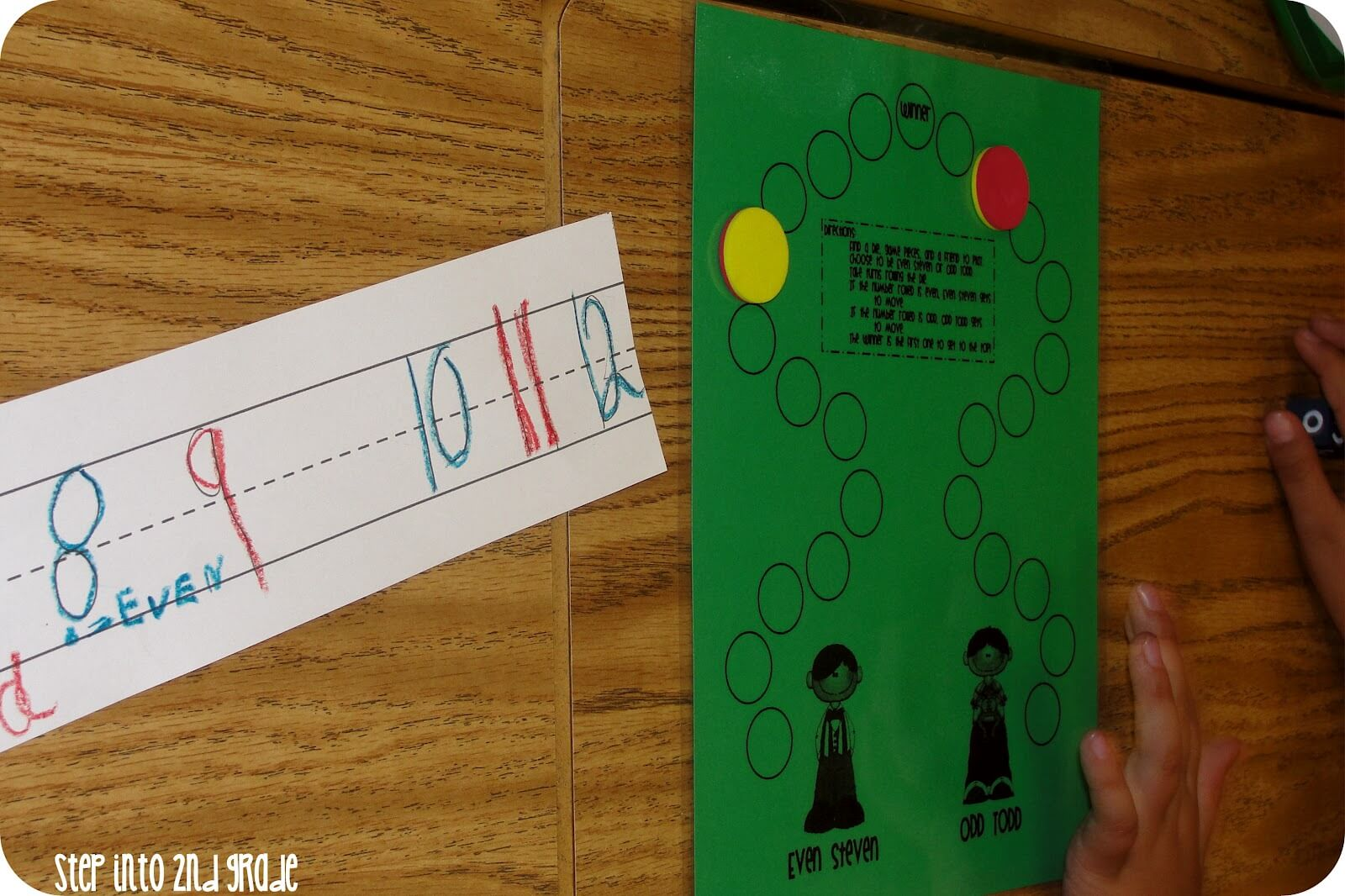 Even and Odd Freebies - Step into 2nd Grade