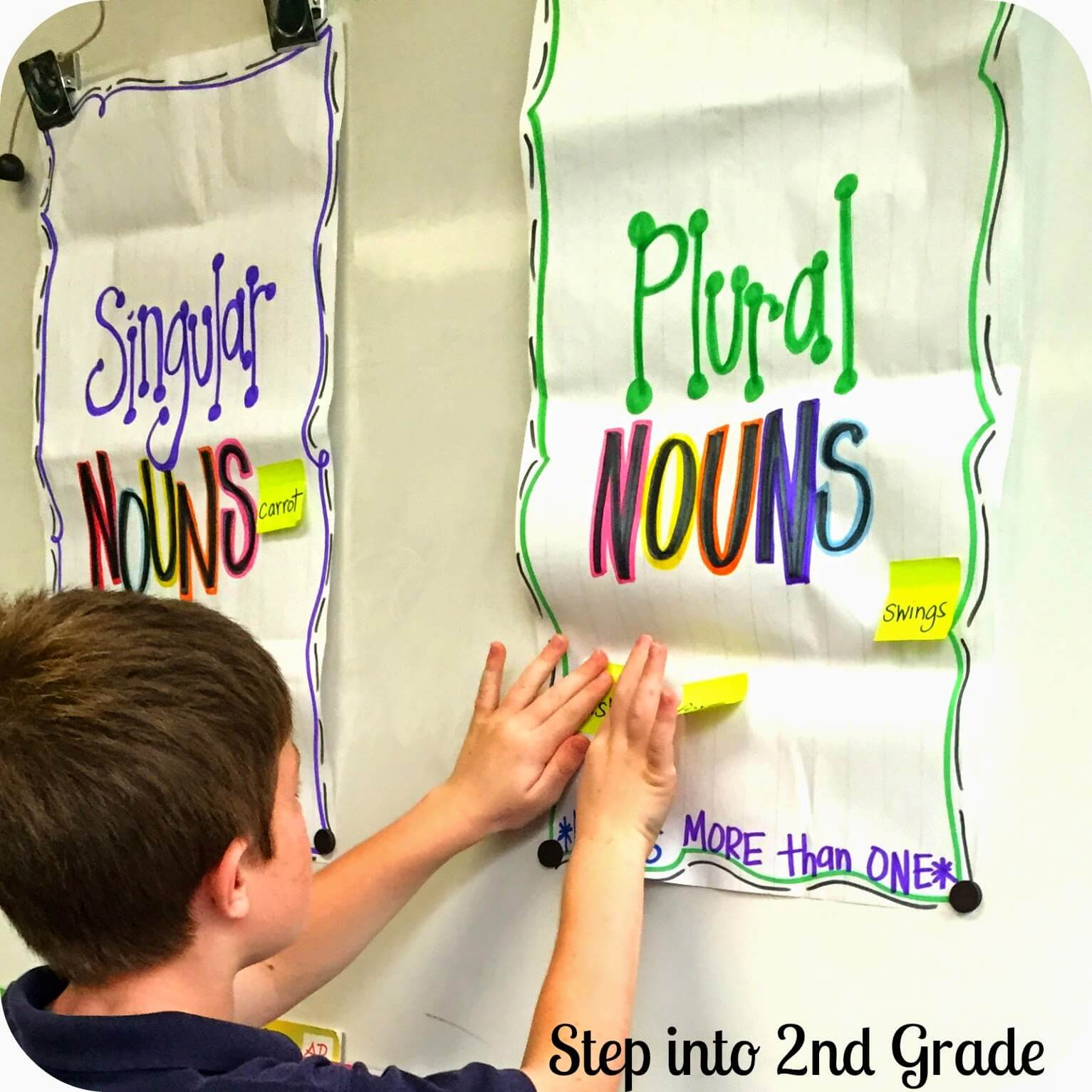Plural Noun Anchor Chart Singular and Plural No...