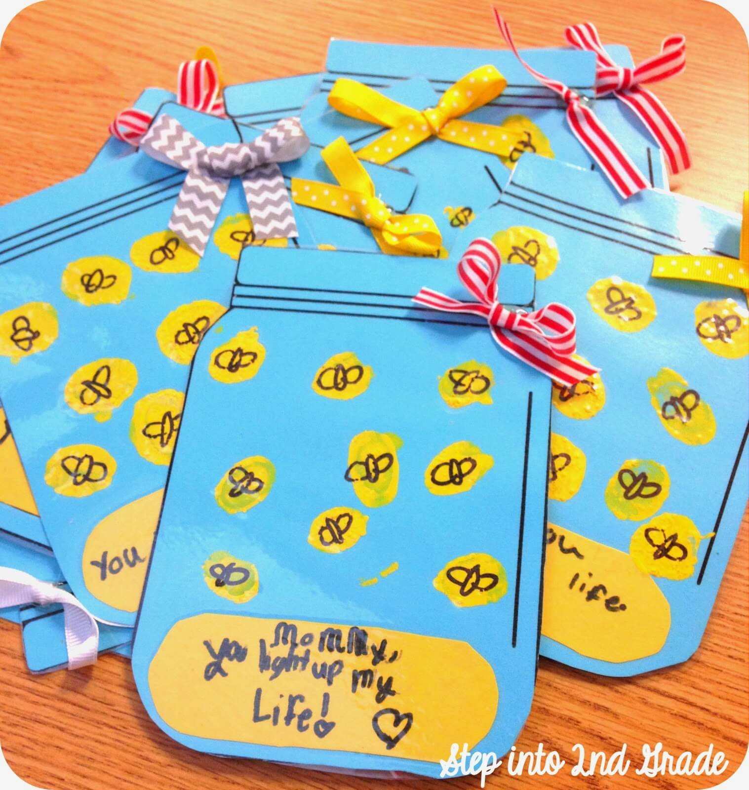 Mother s Day Gifts Step into 2nd Grade