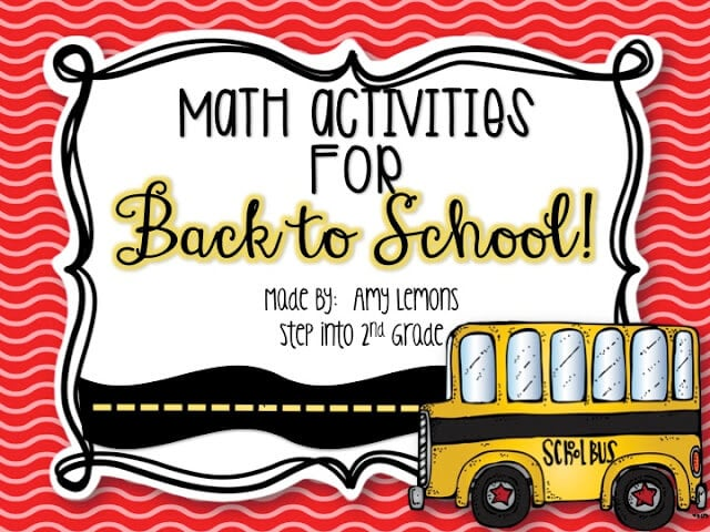 Math Activities for B2S