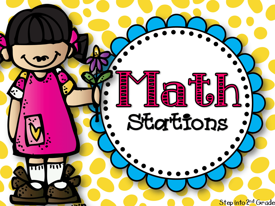 The Math Station Plunge! - Step into 2nd Grade