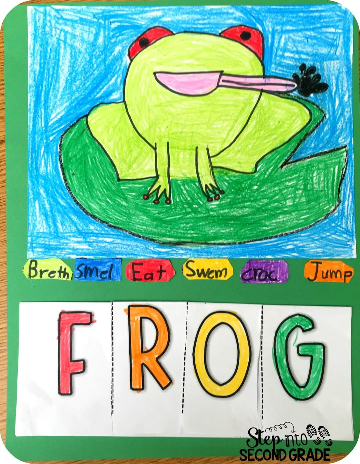 froggy friends step into 2nd grade