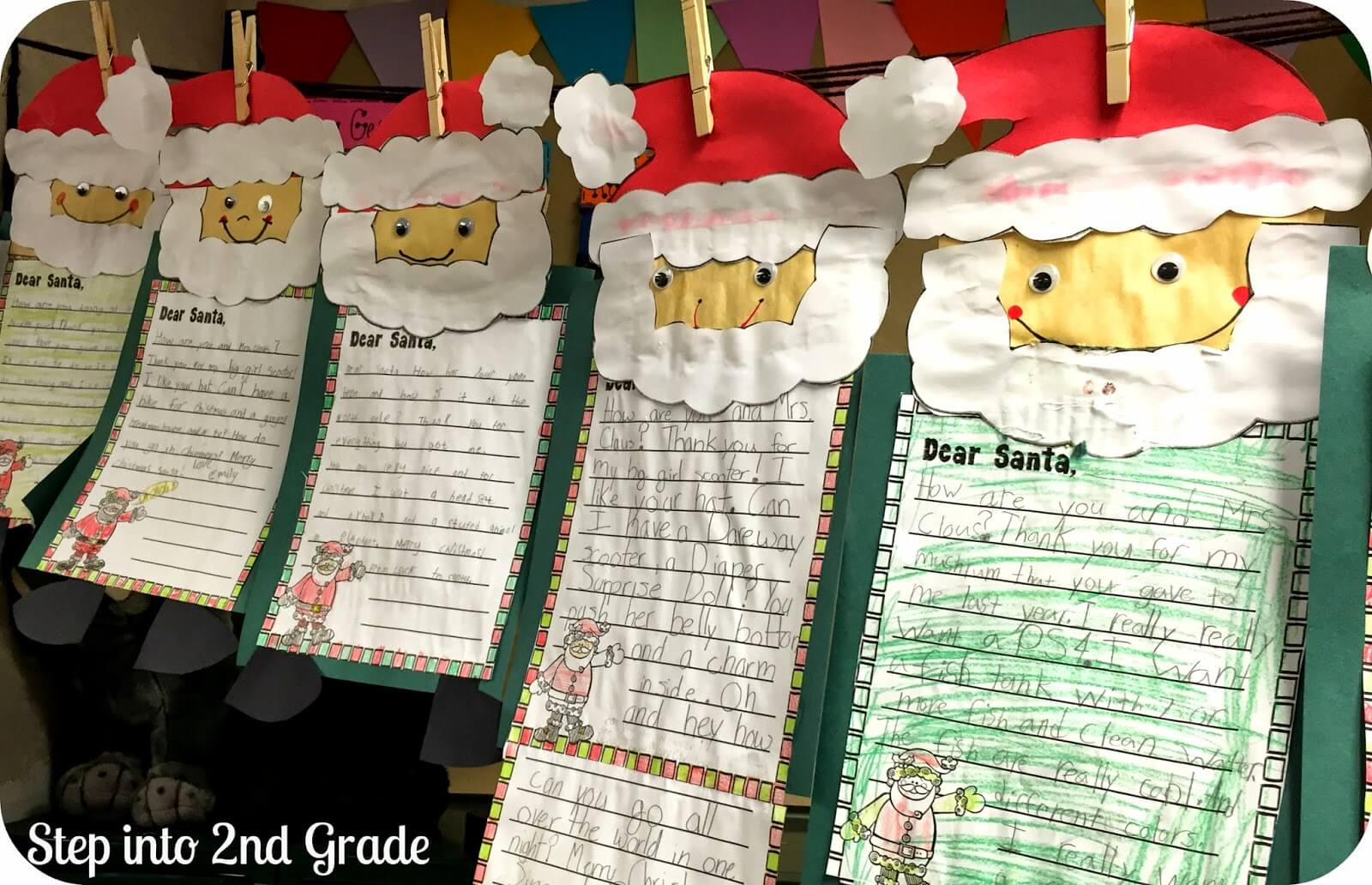 The santa letter writing process step into 2nd grade the santa templates are in my christmas craze unit ive done this same letter format for several years and it still seems to work spiritdancerdesigns Images