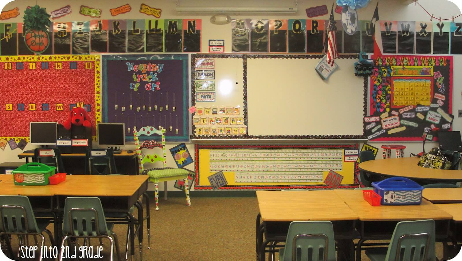 Where I Teach Wednesday {Picture Overload} - Step into 2nd Grade