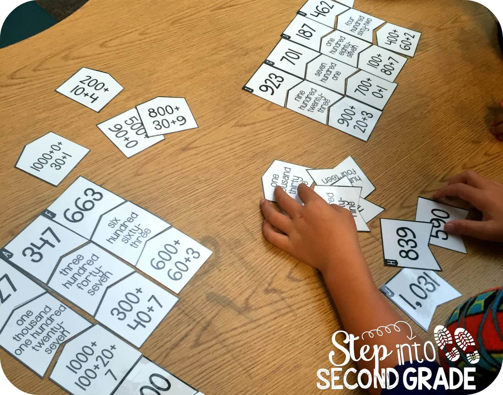 Place Value Step Into 2nd Grade