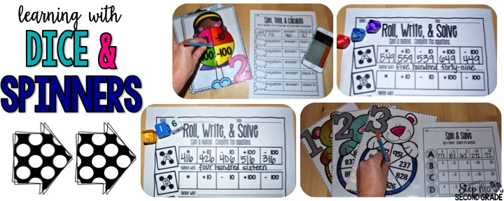 Add and Subtract 10 & 100 {With a FREEBIE}