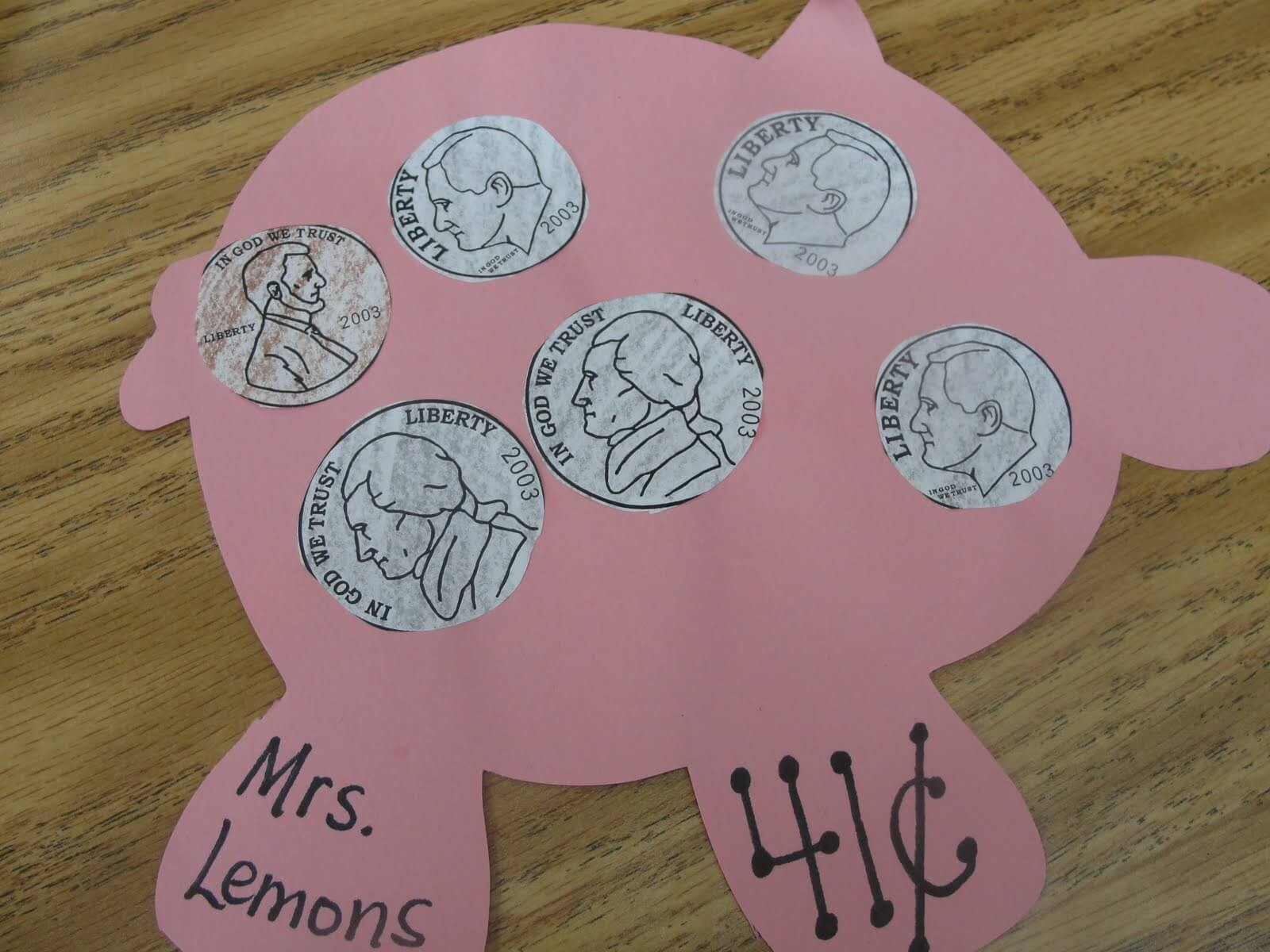 Show me the money step into 2nd grade for Making crafts for money