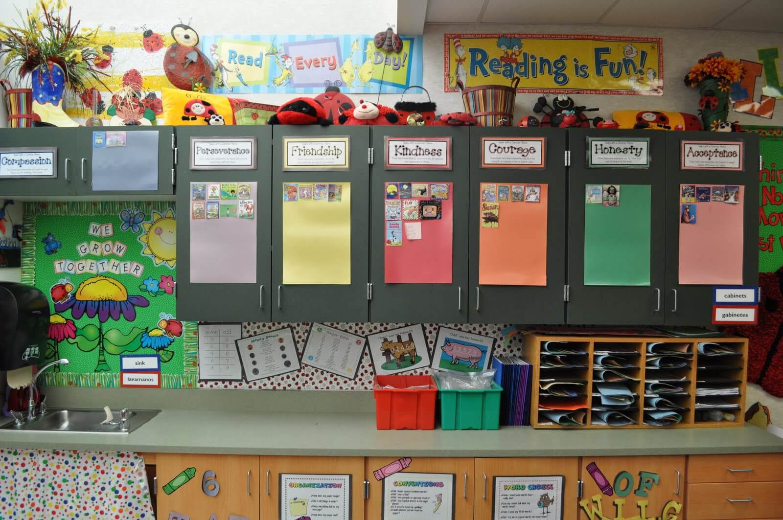 Classroom Theme Ideas Grade ~ Literacy bulletin boards step into nd grade