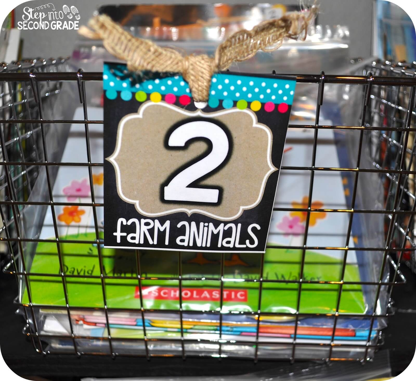 Setting up a Classroom Library - Step into 2nd Grade