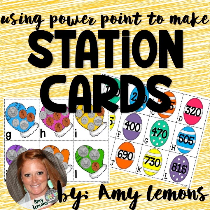 Sanity Saver: Using PP to make Station Cards
