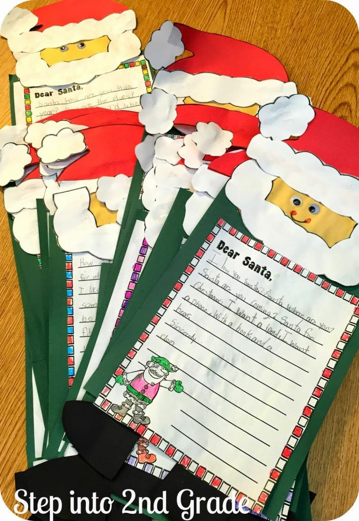 The Santa Letter Writing Process!