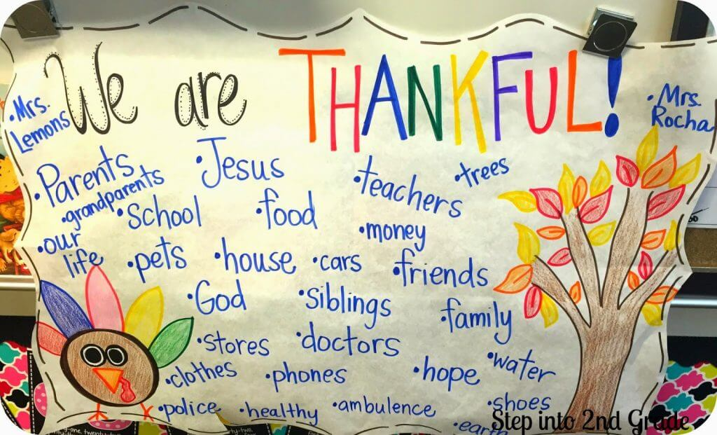 We Are Thankful!!!
