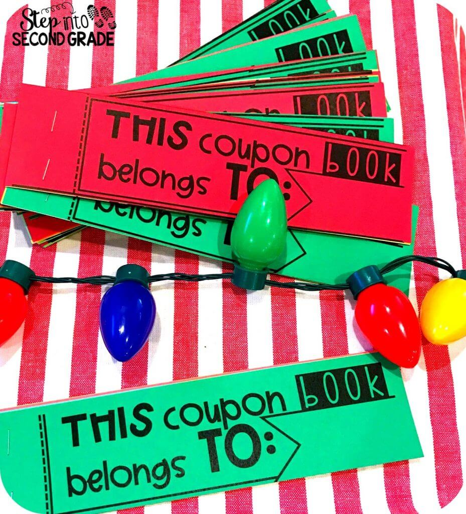 Student Gift: Coupon Book Freebie!