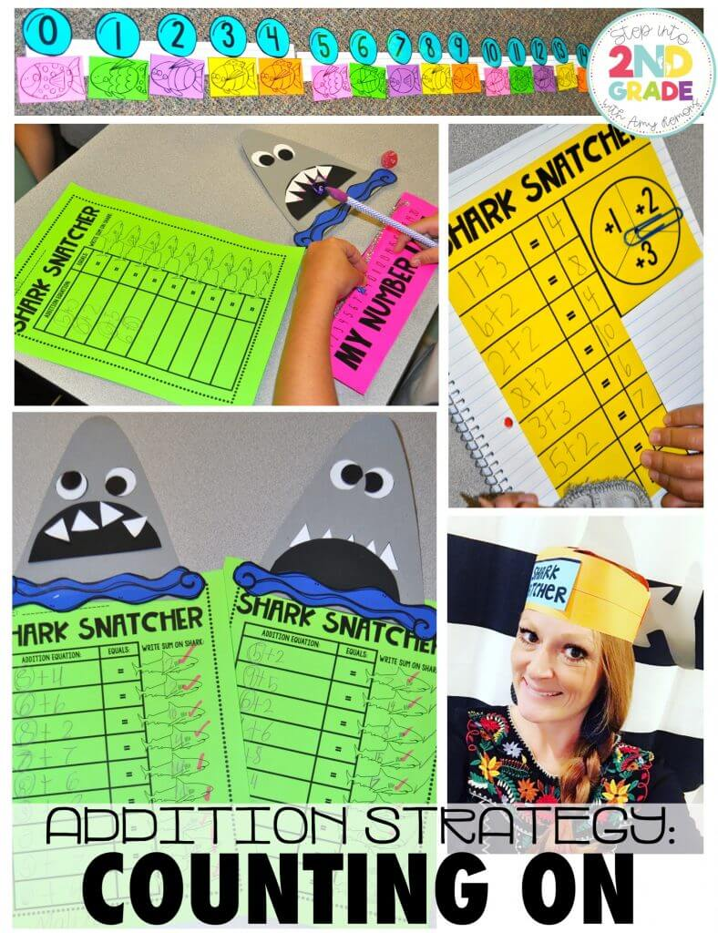 Shark Snatchers! {With a Number Line FREEBIE}
