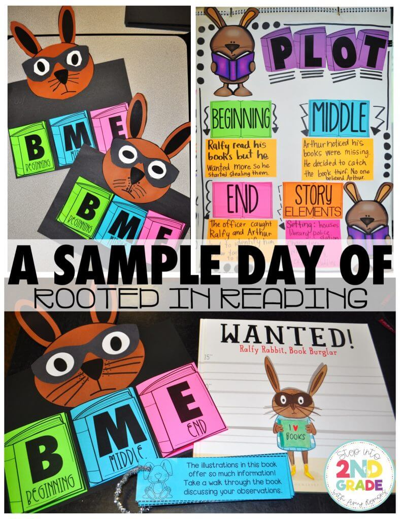 Rooted in Reading:  A SAMPLE DAY