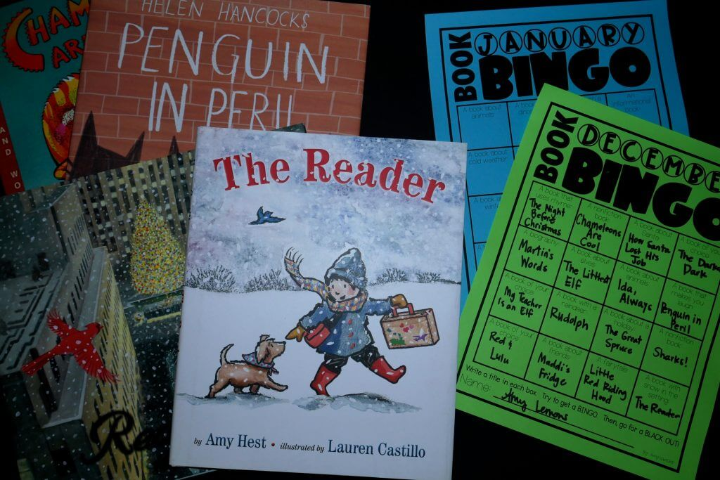 December Reading and Book BINGO
