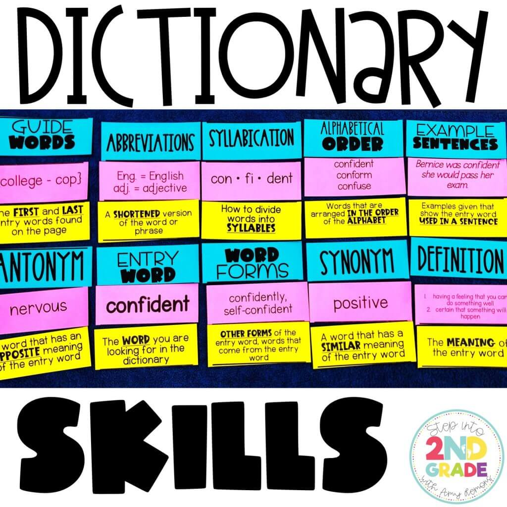 Dictionary Skills {FREEBIE}