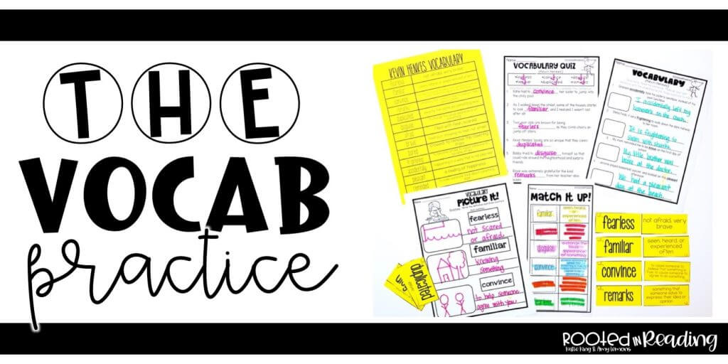 Reading and Vocabulary Student Practice