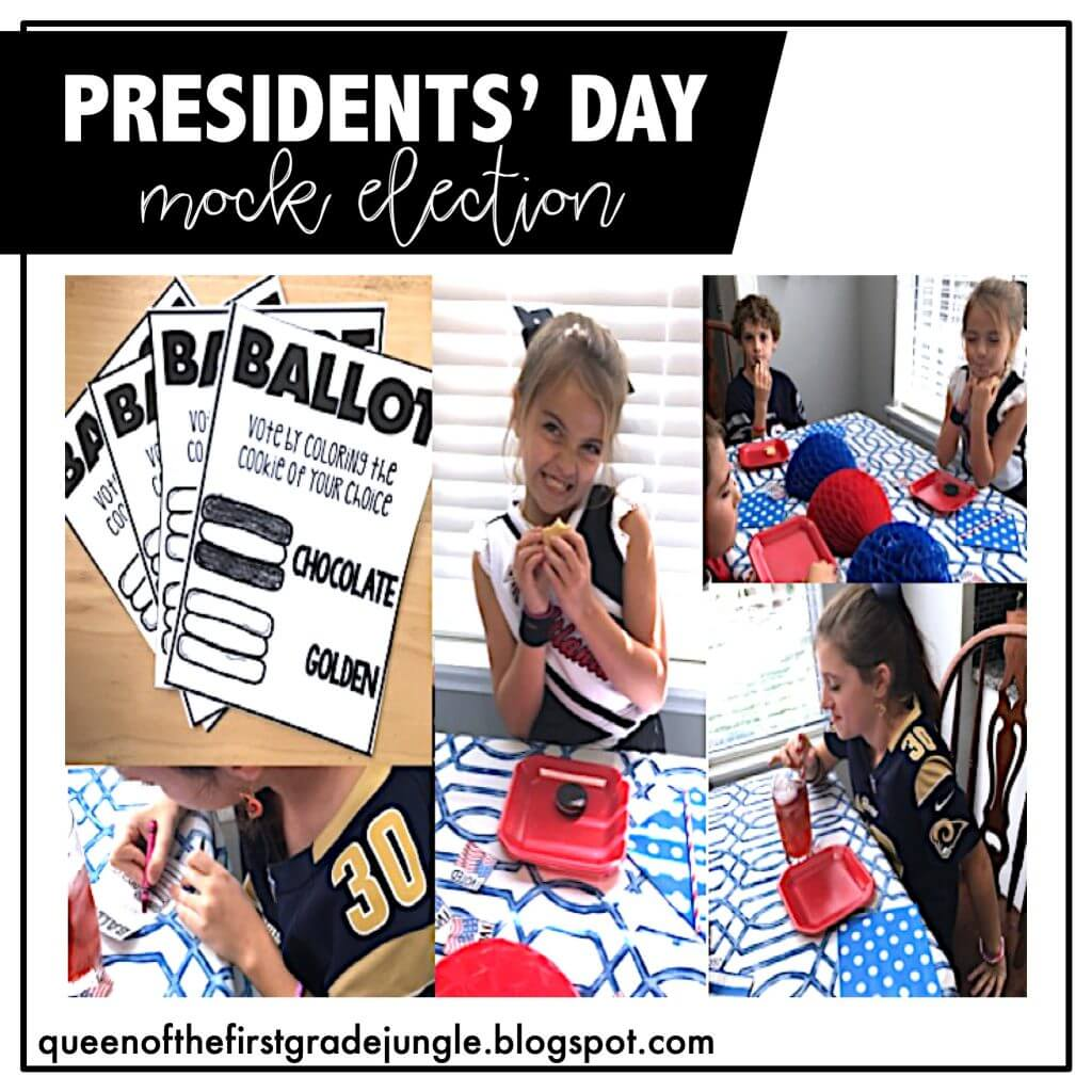 Presidents's Day Mock Election